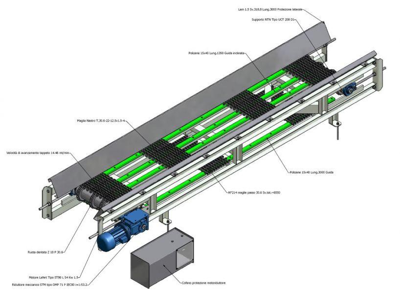 Rulli e accessori per nastri trasportatori - Rollven
